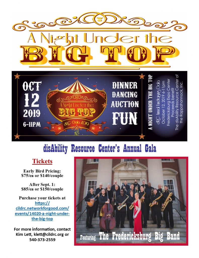 dRC's Fundraising Gala - Under the Big Top