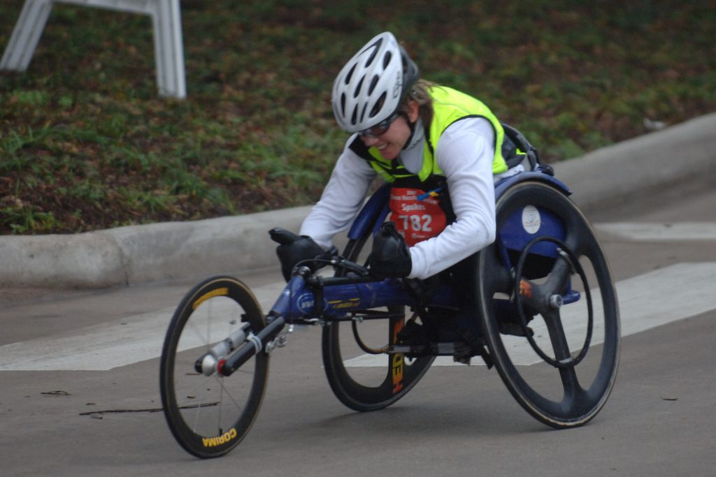 Adaptive bike for spinal cord injuury